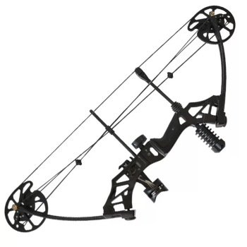 35-70lbs Adjustable Compound Bow Powerful Pulley Bow With 80% Labor-saving Structure For Outdoor Archery Hunting Shooting 4Color new 2 color 30 70lbs archery compound bow set aluminum alloy with bow accessories for outdoor hunting shooting