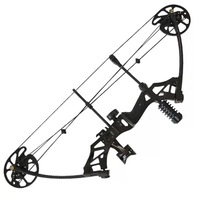 35 70lbs Adjustable Compound Bow Powerful Pulley Bow With 80% Labor saving Structure For Outdoor Archery Hunting Shooting 4Color