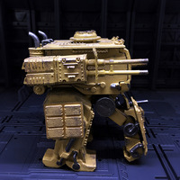 11cm Offending Mecha Model 3D Assembly Removable Soldier Model DIY Stem Toy German Army (Faust)