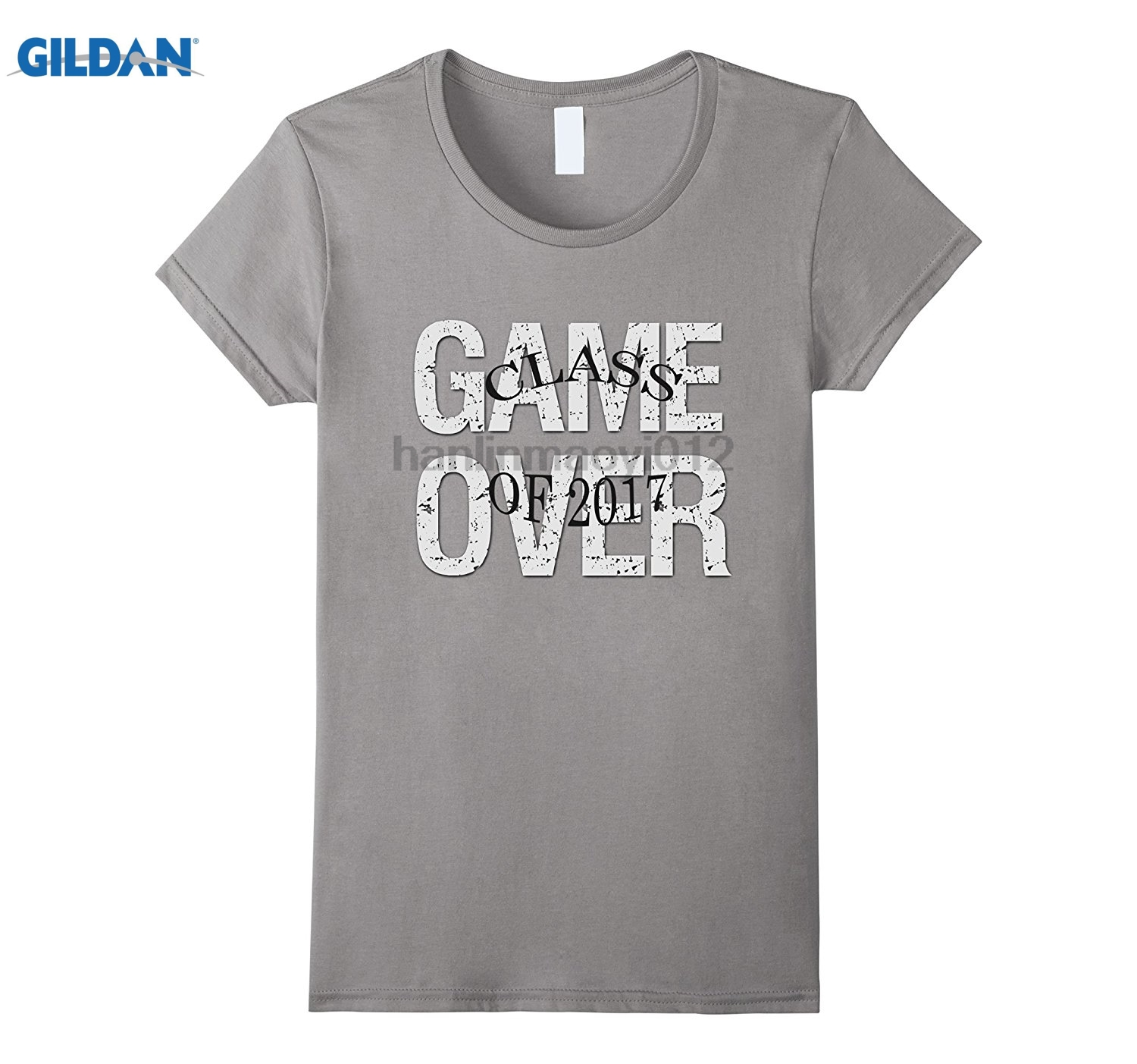 GILDAN Game Over High School Collage Graduation Gift Tshirt 2018 Latest Hot Cotton T-Shi ...