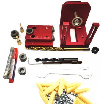 Woodworking Slots 3 In 1 Round Drill Punching Hole Opener Locator Woodworking Tools