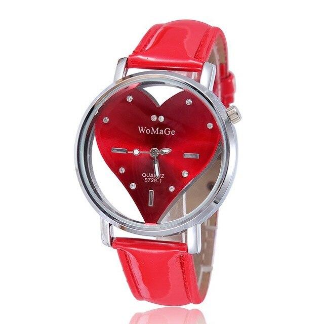 2016 Latest Design Women Heart Watches Best Gift For Girlfriend Valentineu0027s  Day Gifts With Luxury Diamond
