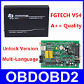 Best Quality FG TECH V54 Auto ECU Chip Tuning Programmer FGTech Galletto 4 V54 Master BDM OBD Multi-Languages Free Ship