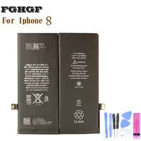ORG FGHGF Phone Battery For Iphone 8 1821mah 0 Cycle 100% test Replacement Repair With Tools Kit
