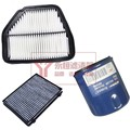 set filters for chevrolet Captiva air filter + cabin air condition+ Oil filter