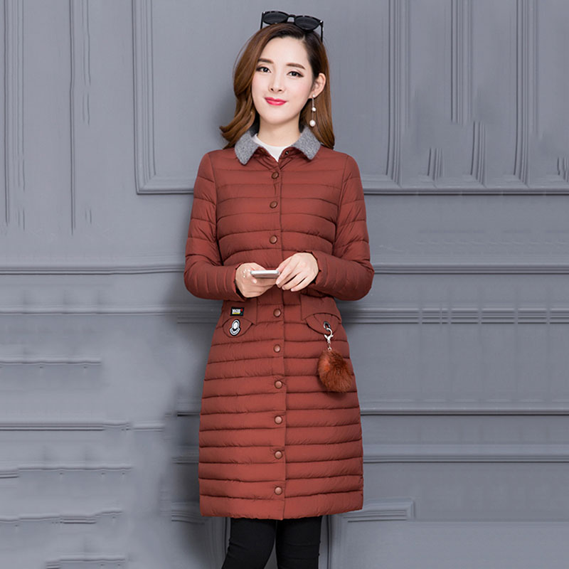 Longue D'hiver Nouveau Grande Lumière 2018 Femmes Colour Mince L black Mode Armygreen red De Veste Manteau Mi Des 6xl Dates Femelle caramel Taille Survêtement Coton Dd728 5txwazqPW