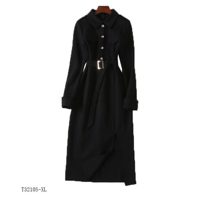 Mode D'été Photo Solide Vintage Femmes Slim Robe Européen 2019 Style Color Nouveautés Couleur Tempérament Vêtements Printemps T3210 RwpHn4q