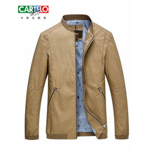 CARTELO 2017 spring new style Men's leisure fashion Solid color jackets Men's business casual coat jackets