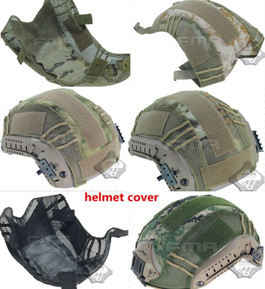Открытый Пейнтбол тактику игры, тактические военные камуфляж шлем Крышка для верховой езды шлем ткань