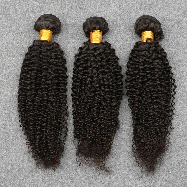 8A Grade Mongolian Kinky Curly Virgin Hair Unprocessed Afro Human Hair Brazilian Curly Virgin Hair DHL Free Shipping