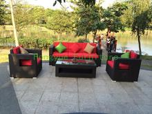 Garden rattan sofa set furniture factory wholesale Outdoor furniture