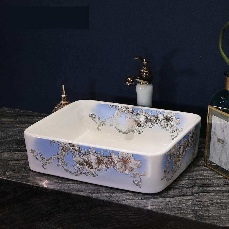 Bathroom Ceramic Sink Wash Basin