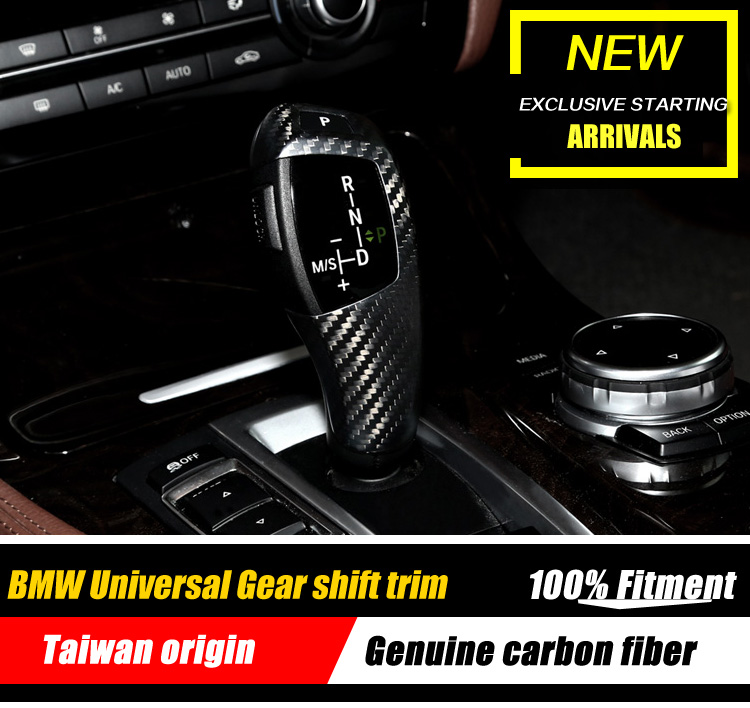 Gear Decoration Shift Trim For Full BMW 1 2 3 4 5 6 7 X Z Series Carbon Fiber Gear Shift Knob All Series Gear Knob Cover stainless steel zero 1000 shift knob replacement black page 3