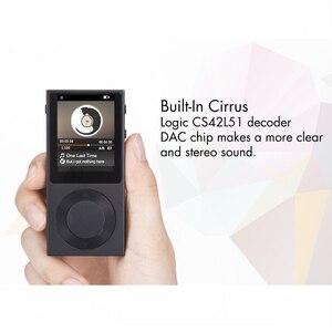 Image 5 - Оригинальный MP3 плеер BENJIE T6, 1,8 дюймовый TFT экран, полностью цинковый сплав, HiFi, музыкальный плеер с поддержкой DSD /Bluetooth/ AUX