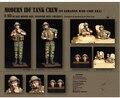 Resina Kits Kits de resina 1/35 IDF tanque tripulação ( em líbano 1980 de guerra ) soldados resina frete grátis 1 conjunto