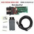 Qualidade superior Mais Novo VAS 5054A ODIS 3.03/3.12 Suporte Bluetooth UDS Protocolo Chip OKI VAS5054A Ferramenta De Diagnóstico VAS 5054 VAS5054a