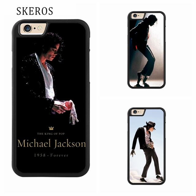 size 40 03a2d a5b90 US $4.99 |SKEROS MICHAEL JACKSON KING OF POP MJ BEAT IT 5 phone case for  iphone X 4 4s 5 5s 6 6s 7 8 6 plus 6s plus 7 plus 8 plus #A362-in Fitted ...