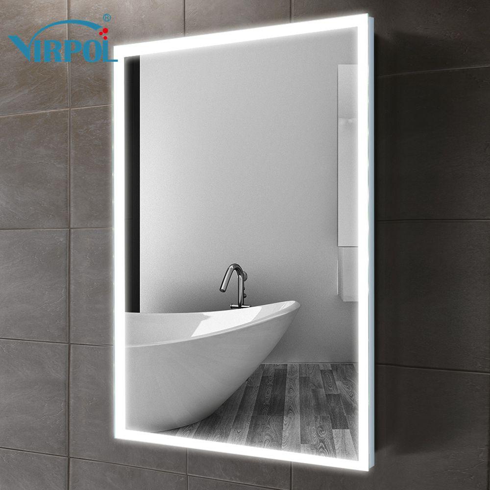 70x60 cm Rahmen led beleuchtet gerahmte bad spiegel ...