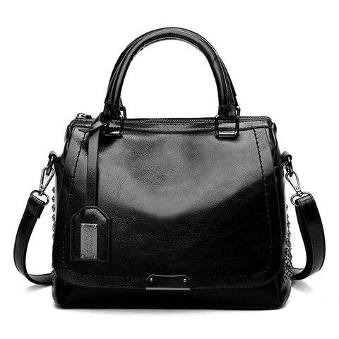 Bolsas de Couro Genuíno para Mulheres do Vintage Bolsa de Couro Nova Chegada Travesseiro Vaca Senhoras Sólida Casual Bolsa Feminina C1038