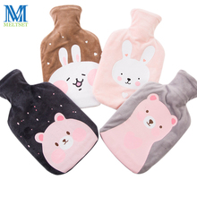 Large Size Hot Water Bag Handwarmer Winter Bottle 1000ml Container Water-filled Type Rubber Liner Hand Warmer