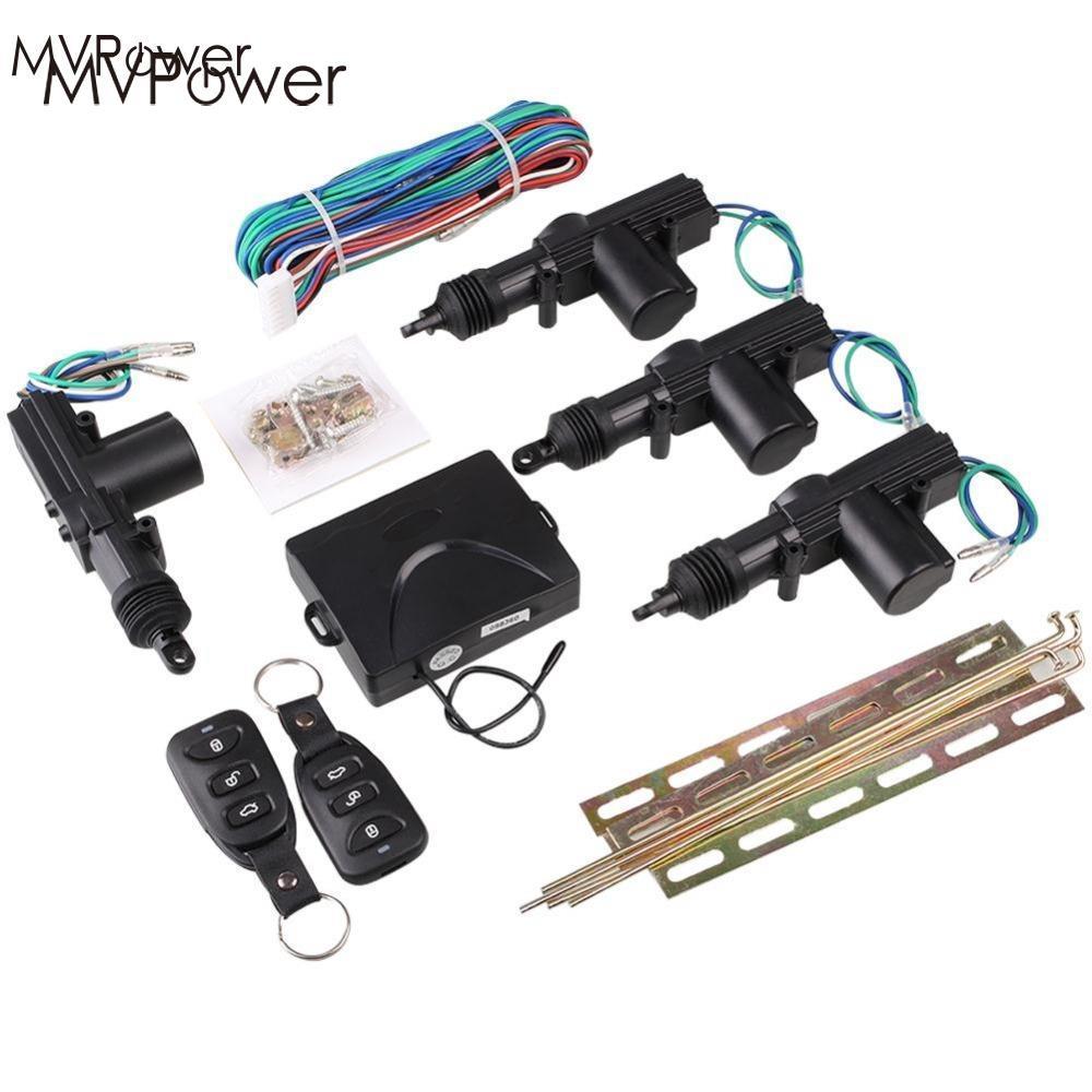 MVpower universel voiture Auto Kit Central à distance serrure de porte verrouillage véhicule sans clé système d'entrée avec télécommandes