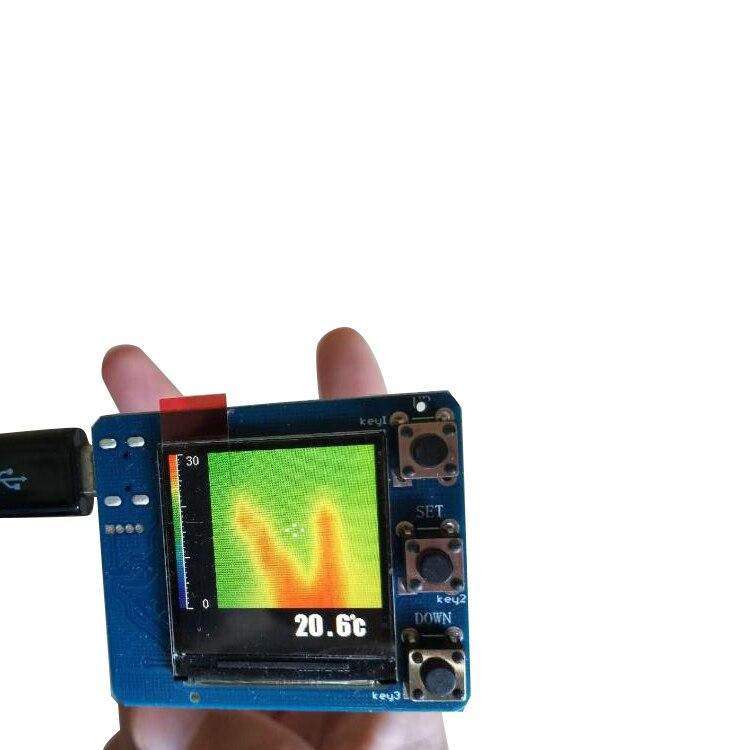 AMG8833 IR 8x8 infrarouge imageur thermique tableau capteur de température Module Science physique expérience éducation jouet cadeau