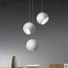 Creative Art ball chandelier post modern Nordic living room lighting restaurant bedroom dining room bar lighting led lighting nordic chandelier creative magic bean personality post modern minimalist living room dining room bedroom milk white ball molecul