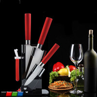 5PCS/SET Four color optional zirconia ceramic knife set fruit knife home kitchen knives fruit knife ZP01031819