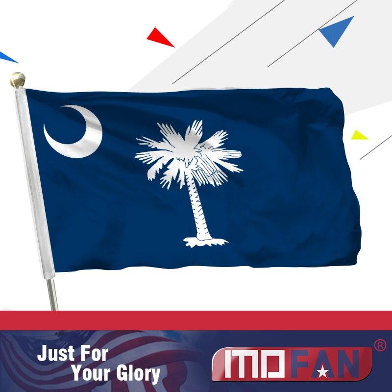 MOFAN - Cabecera de lona y bandera de poliéster del sur de - Decoración del hogar