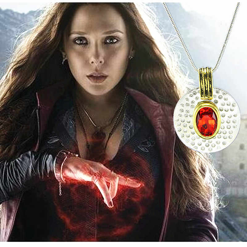 Avengers Scarlet Witch Necklace Set