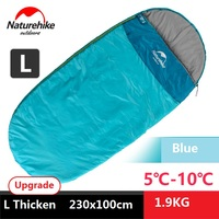 Brand adult 4 seasons spring, summer, fall and winter outdoor camping indoor thicken warm portable single sleeping bag