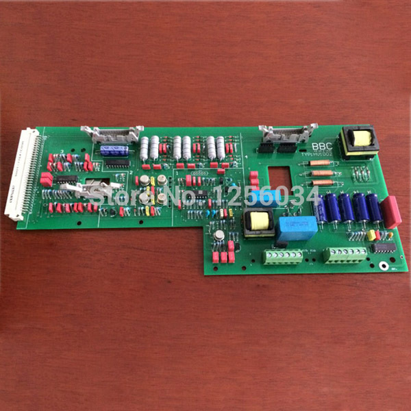 1 piece PCB printing machine BBC HV1002 board, ABB electrical panel BBC TYP:HV1002 board полюс abb 1sca105461r1001