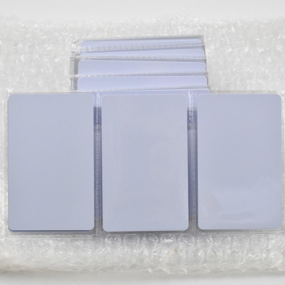 200pcs/lot nfc 1k S50 Blank card Thin pvc Card RFID 13.56MHz ISO14443A IC Smart Card Fudan Chips Waterproof 200pcs lot customable 8 4mm mag stripe 2 track pvc smart card