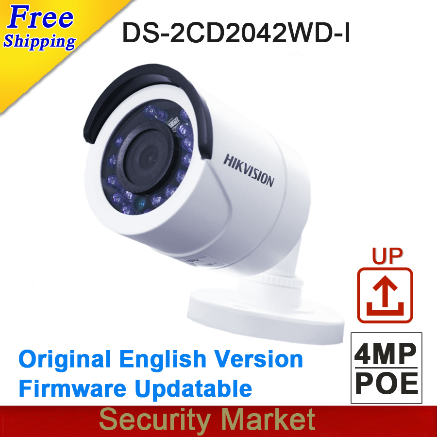 Original hikvision English version DS 2CD2042WD I 4MP Replace DS 2CD2035 I DS 2CD2032 I CCTV