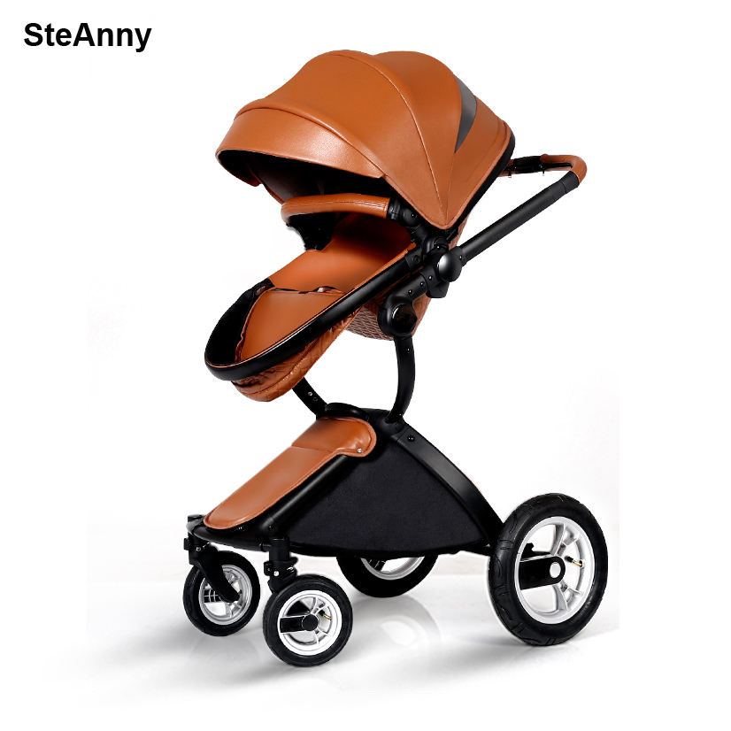 SteAnny Free Shipping Luxury Baby Stroller Fashionable Germany Design Pram Portable Folding Carts Suit for Seating and LyingSteAnny Free Shipping Luxury Baby Stroller Fashionable Germany Design Pram Portable Folding Carts Suit for Seating and Lying