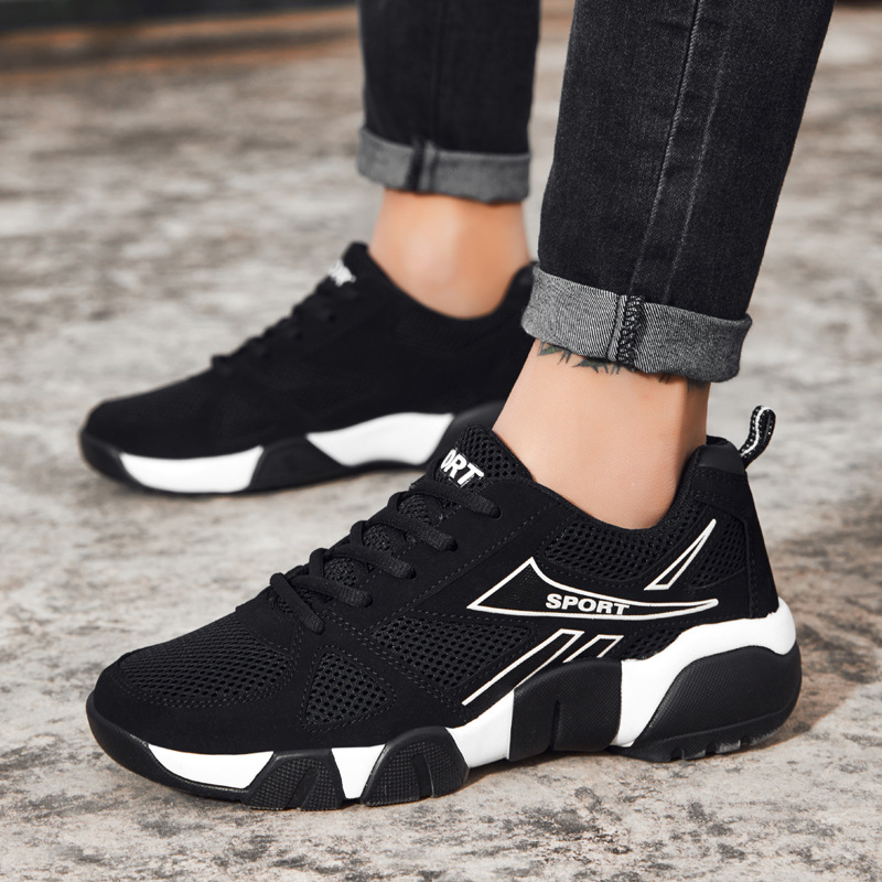 The New casual shoes Four seasons Breathable sneakers men Footwear fashion light Comfortable brand Adultos Man Leisure shoes Обувь
