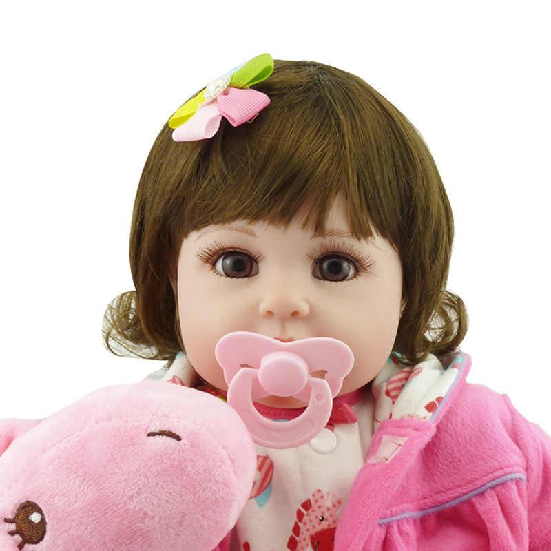 56 см детская модель куклы игрушка костюм ручной работы Reborn Девочка Кукла с одеждой Рождественский с оленями дети элегантный подарочный костюм куклы