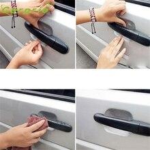 Наклейки для автомобиля на дверные ручки автомобиля защитная пленка для Nissan Volkswagen Jetta Chevrolet Cruze td11 Прямая поставка