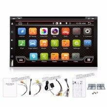 Quad Core Electrónica Del Coche autoradio 2din android 6.0 reproductor de dvd estéreo del coche de Navegación GPS WIFI + Bluetooth + Radio + 3G + TV (Opcional)