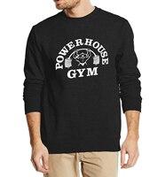 Powerhouse Crop Top Autumn Winter Men Sweatshirt 2016 New Fashion Hoodies Streetwear Tracksuit High Quality Brand