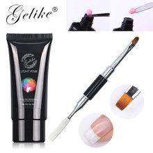 Gelike Poly Gel Jelly Quick Builder Nail Art Tips UV Soak Off Polish Extention Acrylic 60g