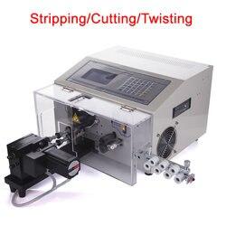 SWT508 NX2 drutu 3 w 1 stripping skręcarka cięcia cyfrowy automatyczny kabel cutter 220V 110V w Zestawy elektronarzędzi od Narzędzia na