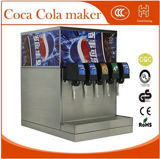 4 heads MacDonald KFC Carbonated drink machines Sprite Mirinda Pepsi maker Drinking machine drink dispenser