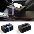 Car Styling Carbon fiber Car Tissue Box Holder Container For BMW E46 E39 E90 E60 E36 E34 E30 F10 F20 F30 X1 X3 X5 X6 Accessories