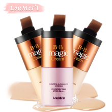 Loumesi bb cream with concealer cream Concealer Moisturizing Foundation Makeup Bare Strong Whitening Face Beauty Makeup Maquiage