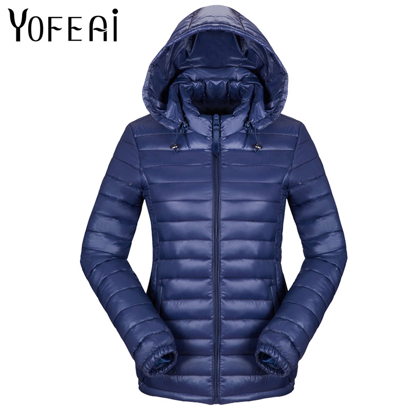 YOFEAI 2017 Women Jacket Fashion Coats & Jackets Autumn Winter Down Cotton Outwear Parka Hooded jacket Padded Parkas Feminina 2017 new hooded women winter coats female winter down jackets cotton padded parkas autumn outwear abrigos mujer invierno y1488