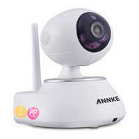 ANNKE 720P Intelligent 100 Wire Free Design Network Pan Tilt Cameras HD 1280 X 720P Baby