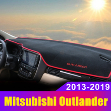 Car dashboard Avoid light pad Instrument platform desk cover Mats Carpets For Mitsubishi Outlander 2013-2015 2016 2017 2018 2019 dongzhen fit for mitsubishi asx 2011 to 2016 car dashboard cover avoid light pad instrument platform dash board cover