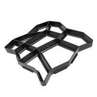 High Quality DIY Plastic Path Maker Mold Paving Mold Manually Paving Mold Cement Brick Mold Free