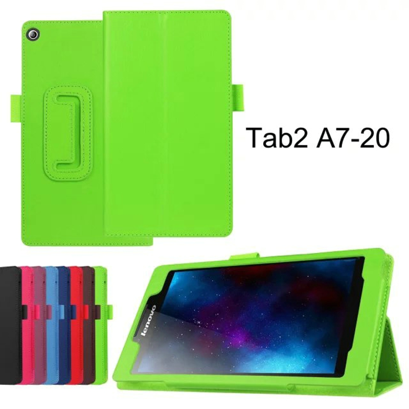 2-Folder Luxury Folio Stand Holder Funda protectora de piel cubierta - Accesorios para tablets - foto 3